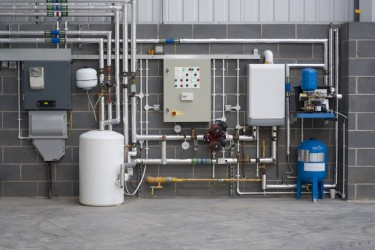 Commercial boiler replacement and installation - Picture © PKM1